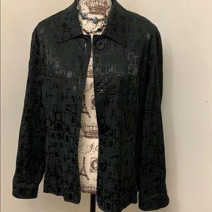Chico's detailed black jacket- 3